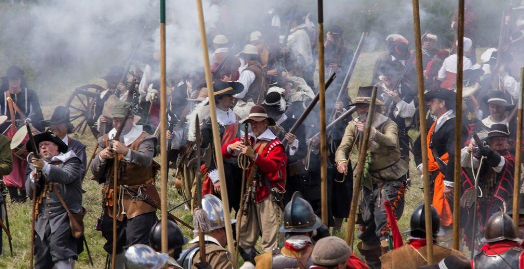 Een weekendje à la de zeventiende eeuw. Beleef de Slag om Bourtange! Foto: Vesting Bourtange © Bert Moorlag.