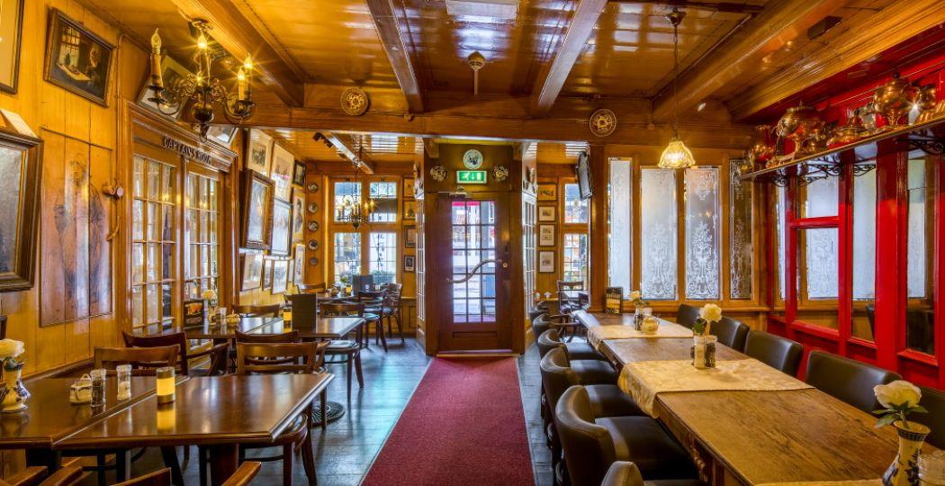 Zo'n vijfduizend monumentale plekken van plezier openen hun deuren op 14 en 15 september. Foto: Hotel Spaander, Volendam © Rijksdienst voor het Cultureel Erfgoed.