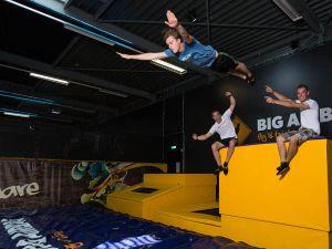 Vergeet zwaartekracht en jump!