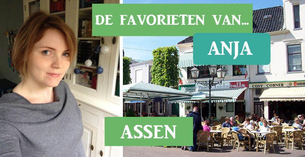 Ontdek de mooiste plekjes in Assen dankzij de tips van local Anja. Foto links: Anja. Foto rechts: Niels Elgaard Larsen,  CC BY-SA 3.0 .