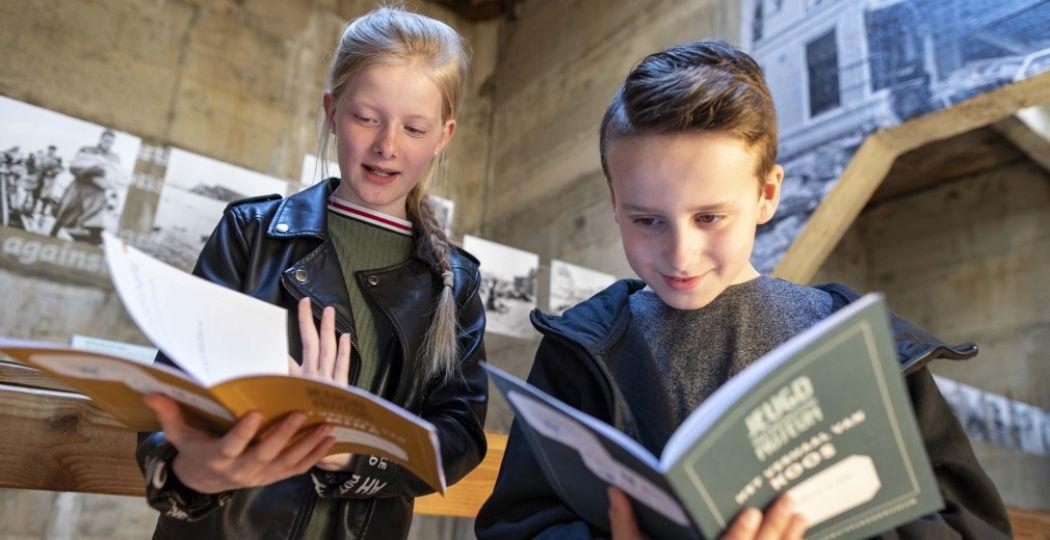 Met de jeugdroute van het Watersnoodmuseum ontdek je de verhalen van Koos en Mina. Foto: Watersnoodmuseum / Liza de Bie