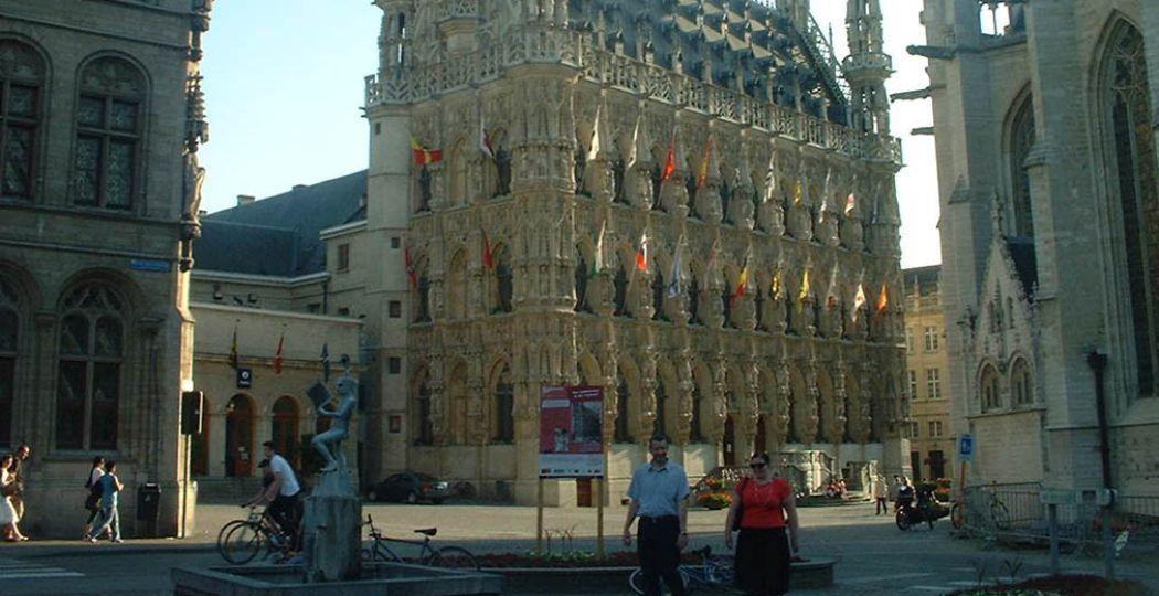 Foto: 'Stadhuis Leuven'. Fotograaf:  Matthew Black . Licentie:  Sommige rechten voorbehouden . Bron:  Flickr.com . (Foto is bijgesneden voor DagjeWeg.NL.)