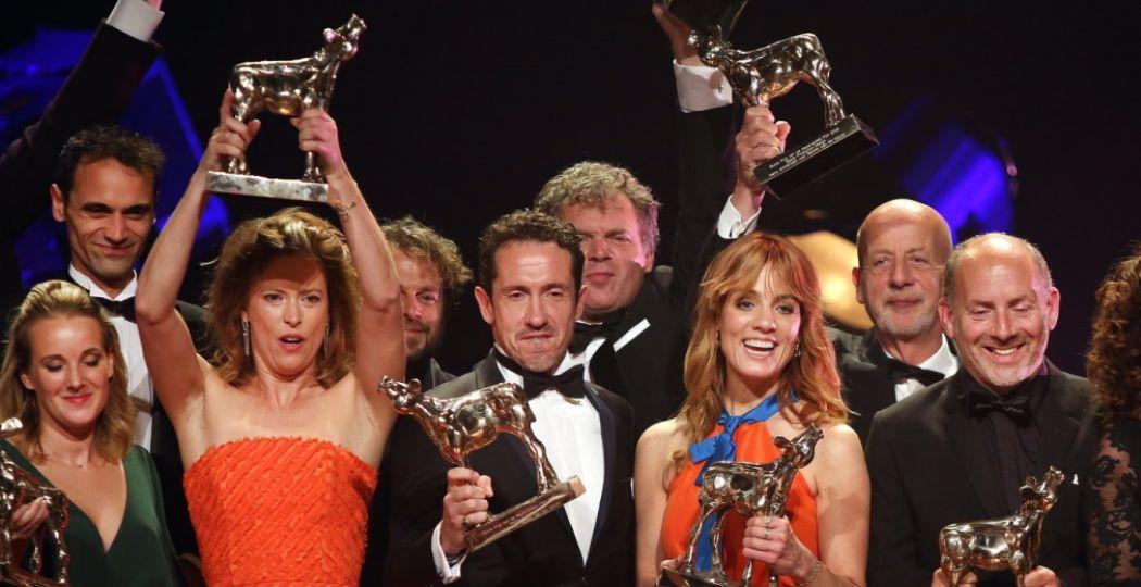 Wie wint er dit jaar een Gouden Kalf? Hier de winnaars van vorig jaar. Foto: Ramon Mangold.
