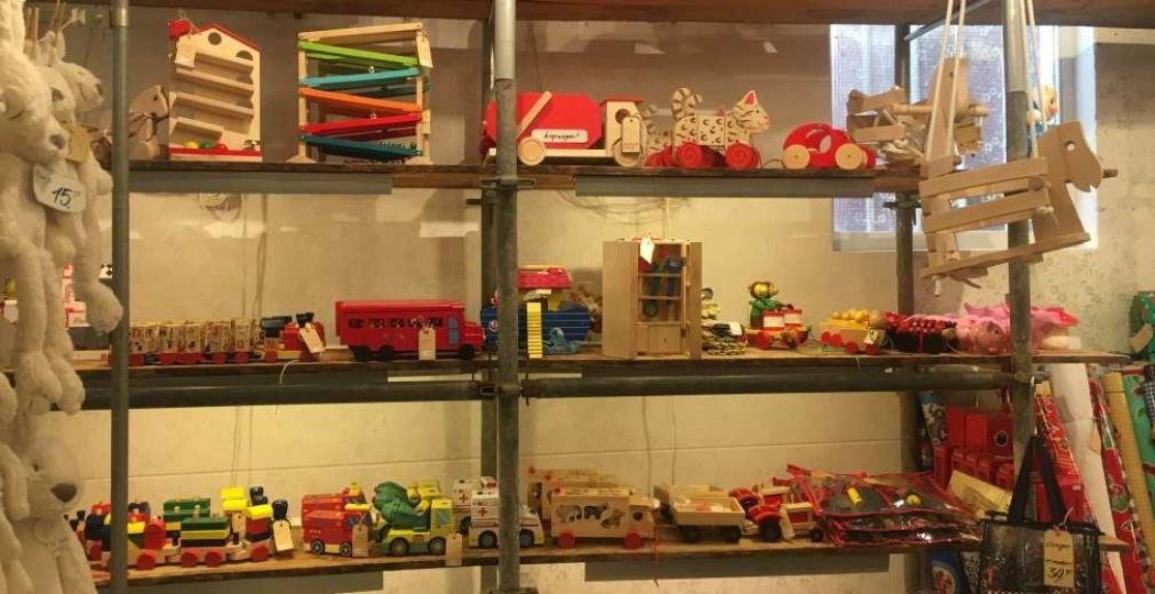 Duurzaam houten speelgoed bij ToyToy. Foto: redactie DagjeWeg.NL