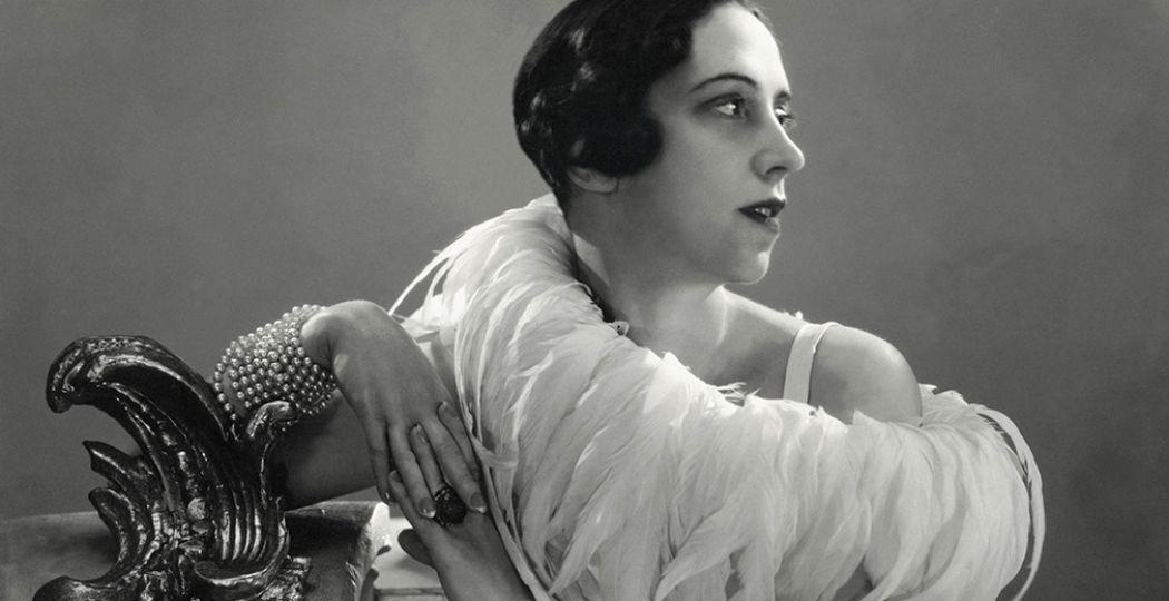 Elsa Schiaparelli, 1932. Foto: George Hoyningen-Huene. Getty Images / George Hoyningen-Huene / Gemeentemuseum Den Haag.