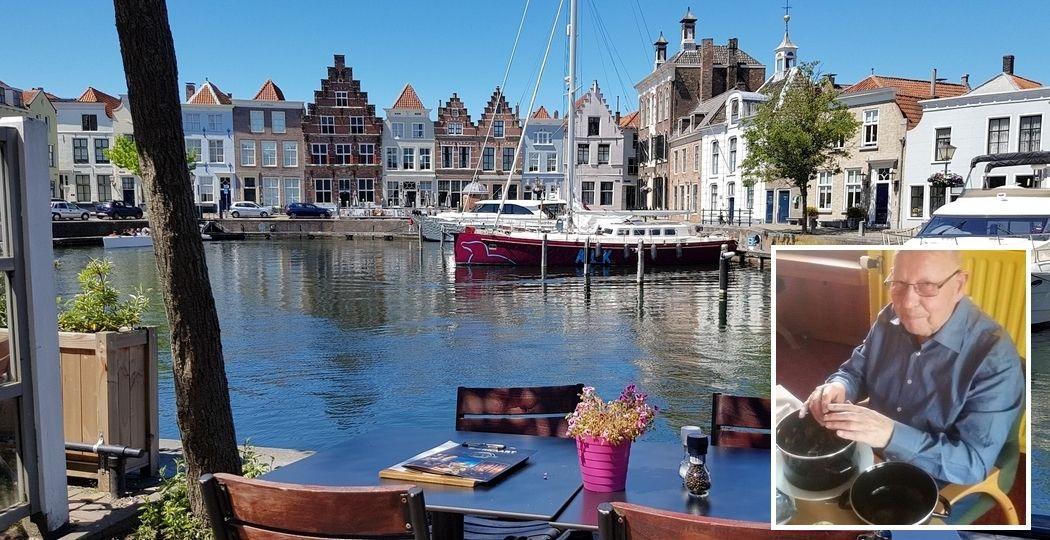 Eén van de favorieten van Jo is de Oude Haven van Goes. En dan vooral een terrasje pakken, kijken naar de boten die langsvaren en mosselen eten. Foto: DagjeWeg.NL @ Tonny van Oosten