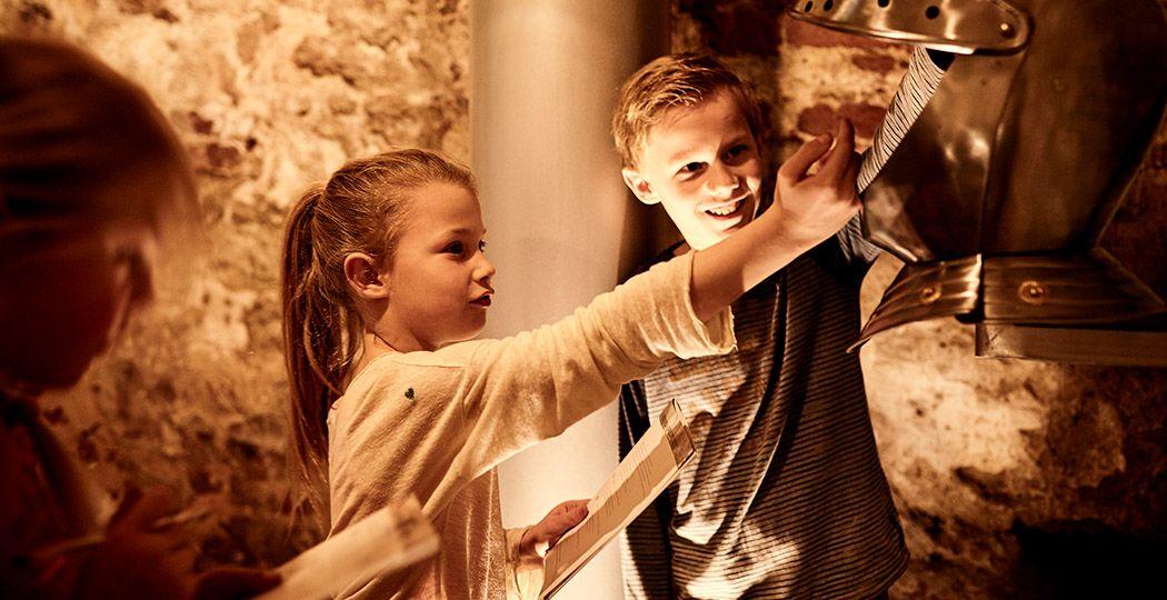 Met het gezin op schervenspeurtocht door Kasteel De Keverberg. Foto: Kasteel de Keverberg © Dick Holthuis