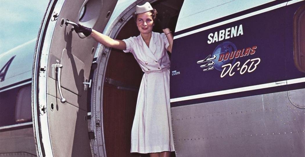 SABENA behoorde tot de top. Foto: Atomium Expo