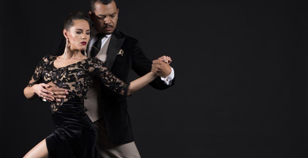 Tangodansers Carlos & Mirella zijn de speciale gasten tijdens het concert. Foto: Carlos & Mirella