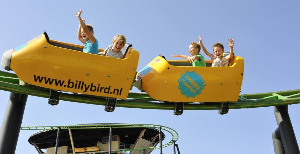 Wie maak jij blij met een voordelig dagje uit? Foto: BillyBird Park Hemelrijk