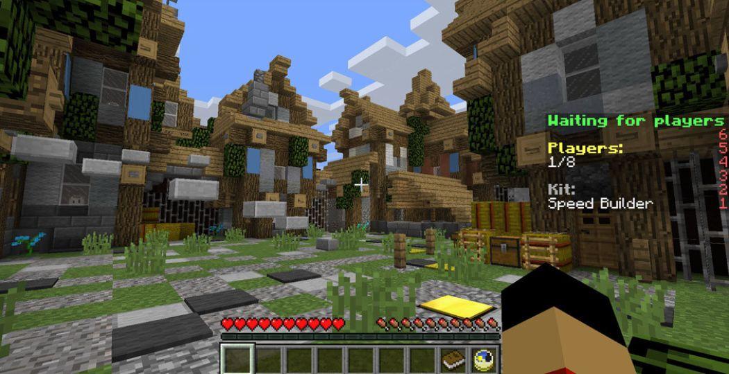 Zo ziet een wereld er in Minecraft uit. Foto:  minecraft.gamestad.com