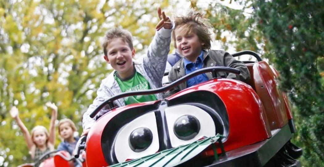 Maak een ritje in de attracties van Amusementspark Tivoli. Foto: Tivoli