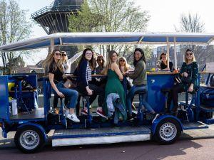 Op de bierfiets door Amsterdam