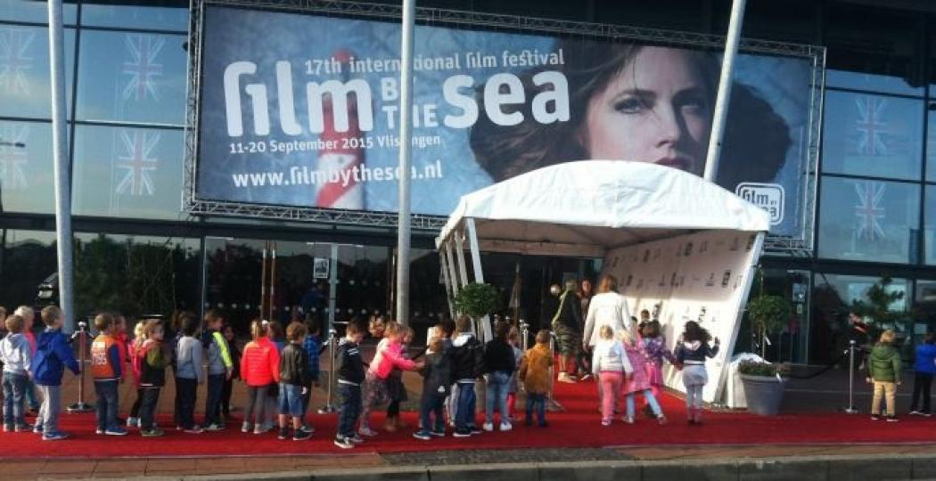 Met de hele klas naar de film, ook dát is Film by the Sea. Foto: Film by the Sea