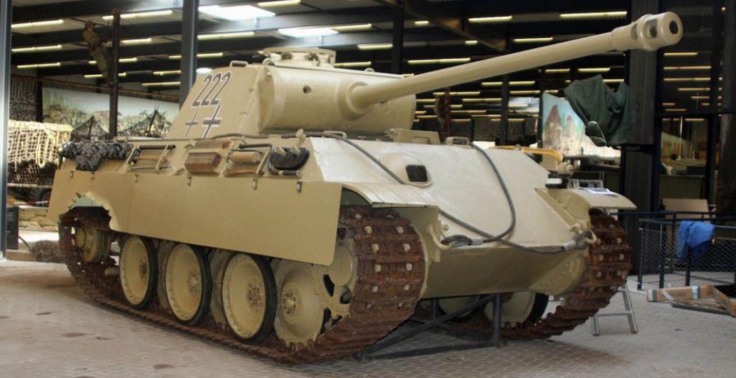 De Duitse Panther-tank uit 1944. Foto: Oorlogsmuseum Overloon