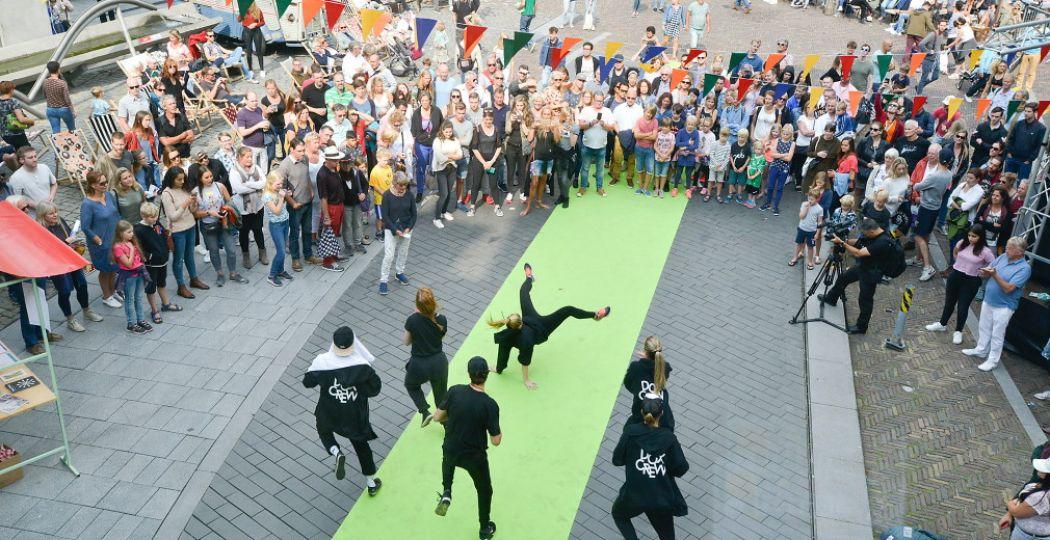 Dans, muziek, kunst, technologie en theater: Utrecht is  the capital of culture  tijdens het Uitfeest. Foto: Utrecht Marketing © Remke Spijkers.