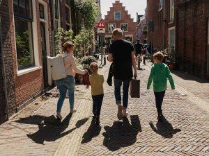 Een gezellig dagje uit met het gezin. Foto: Verhaalvontuur