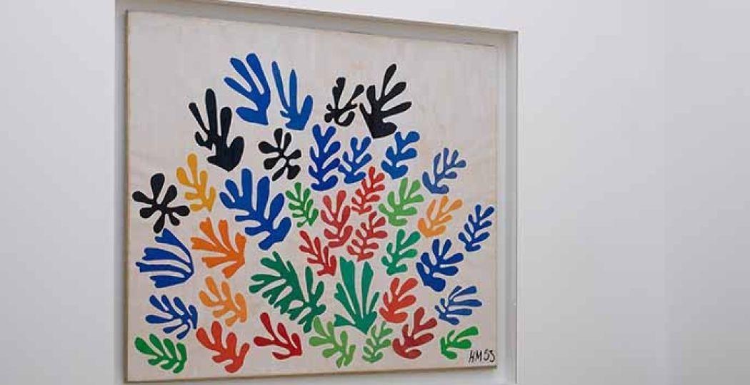 De oase van Matisse, Stedelijk Museum Amsterdam, 2015, zaalopname. Foto: Gert Jan van Rooij. ©Succession H. Matisse, c/o Pictoright Amsterdam 2014