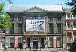 Gezichtsbedrog. Foto: Escher in Het Paleis.