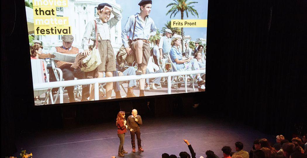 Tijdens het Movies that Matter Festival vinden ook interessante Q & A's plaats. Foto: © Movies that Matter