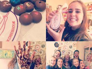 Maak je eigen creatie van chocolade. Foto: Choco Loca.