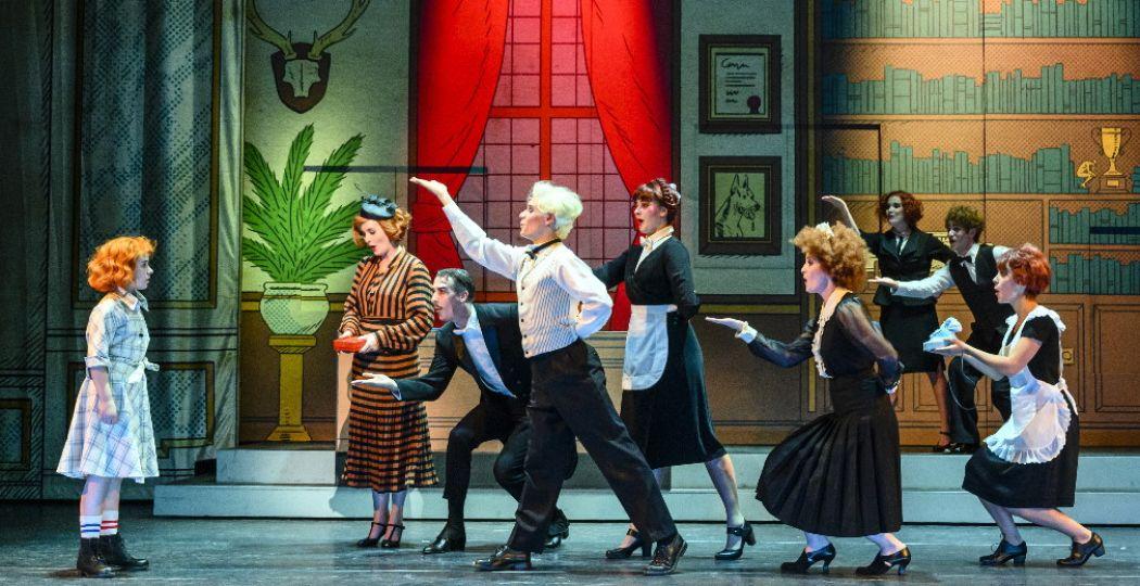 Annie de musical is terug in Nederland! Foto: © Roy Beusker en Annemieke van der Togt