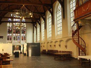 De Oude Kerk Delft heeft drie orgels. Foto: DagjeWeg.NL.