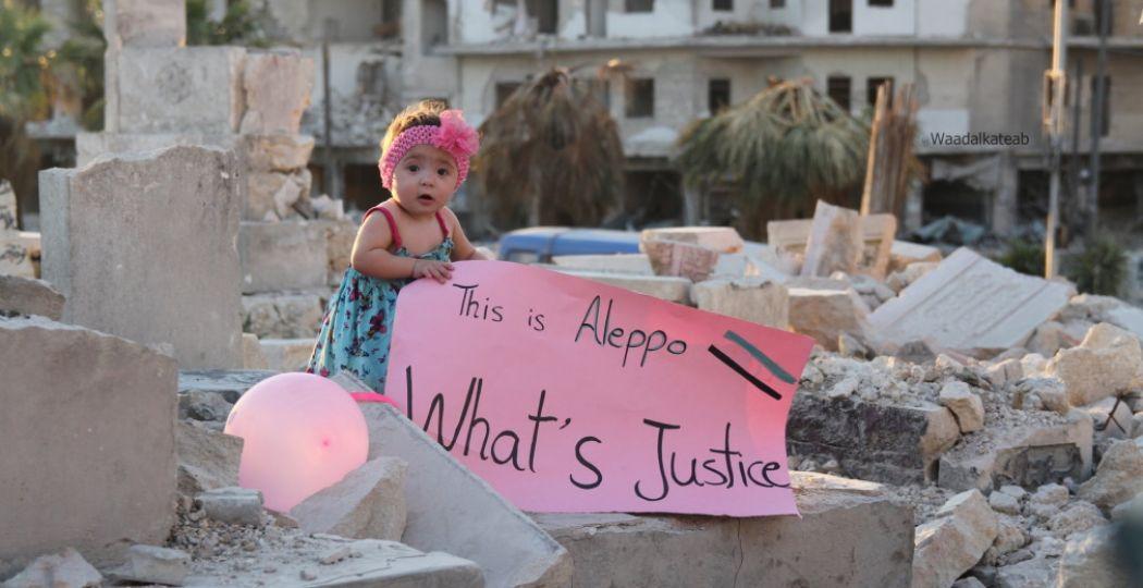 'For Sama' is te zien op het IDFA. Foto: Waad al-Kateab / IDFA.