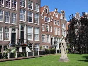 Karakteristieke Amsterdamse huisjes. Foto: Redactie DagjeWeg.NL