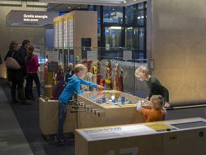 Bezoek interactieve tentoonstellingen. Foto: Museon.