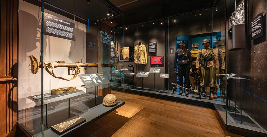 De vaste tentoonstelling in het Airborne Museum is helemaal vernieuwd en bevat een aantal nieuwe topstukken. Foto: Airborne Museum © Daan van Oort