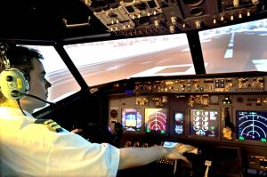 Flight Simulator Training: met al je collega's de lucht in!