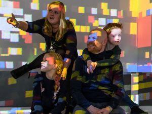 Het Mondriaanhuis is leuk voor kinderen. Foto: Mondriaanhuis © Mike Bink.