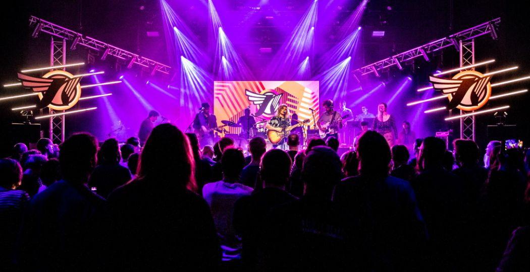 Eurosonic Noorderslag 2020 zet Groningen op z'n kop met exclusieve concerten en gratis optredens. Foto: ESNS © Jorn Baars.