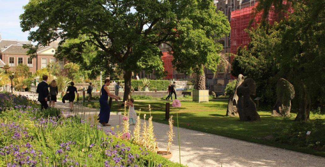 In Hortus Botanicus Leiden kom je even helemaal tot rust. Foto: Redactie DagjeWeg.NL