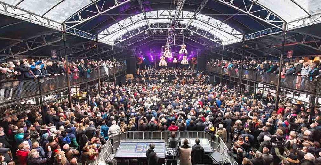 Het Noord Nederlands Orkest speelt dit jaar op zaterdagmiddag game muziek. Foto: ESNS © Fotograaf: Stef Steneker.