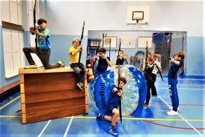 Kinderen vermaken zich uitstekend. Foto: Sportproductions