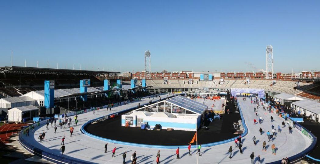 Schaatsen op olympische grond! Foto: De Coolste Baan van Nederland