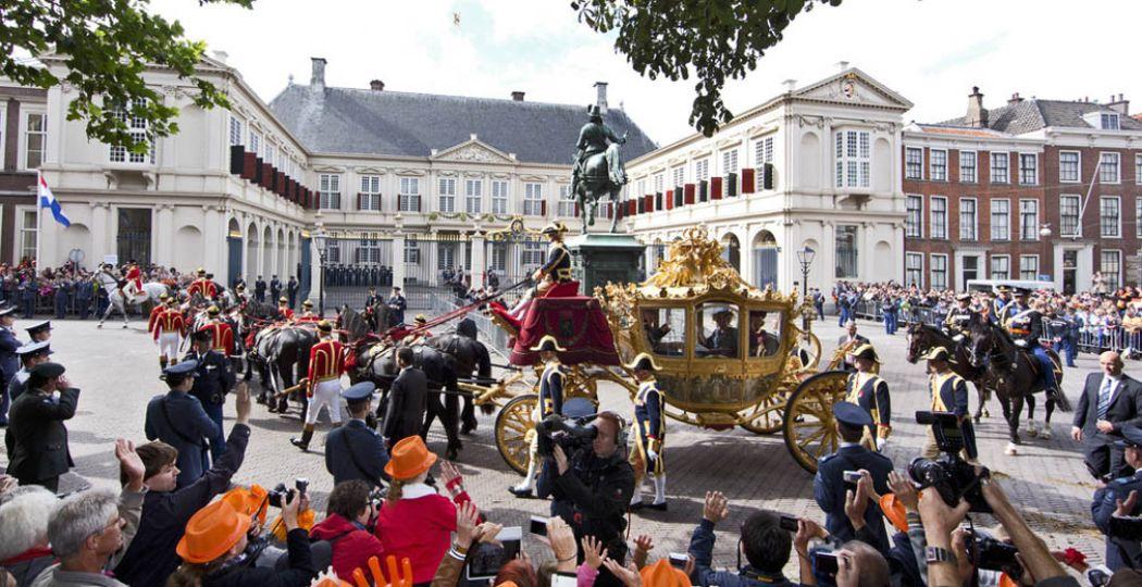 Prinsjesdag is altijd één groot spektakel. Foto: © NBTC, Holland Mediabank