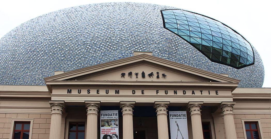 Het gebouw van Museum de Fundatie is uniek en niet te missen in Zwolle. Foto: DagjeWeg.NL.