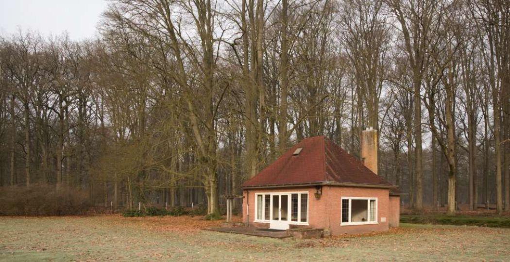 Speelhuisje Ixenita in het sportpark van Paleis Soestdijk. Foto: Caspar Huurdeman