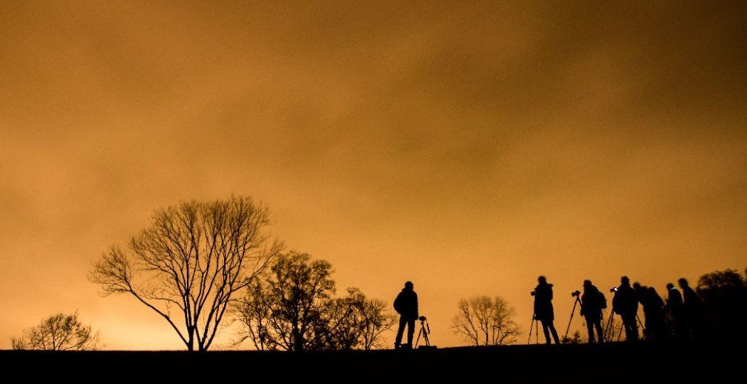 De Nacht van de Nacht levert mooie plaatjes op. Foto: Milou Oomens
