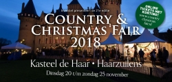 Winterse gezelligheid op de Country & Christmas Fair 2018