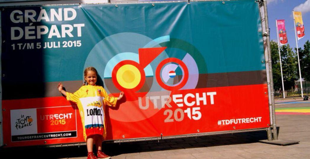 De Tour de France start voor het eerst in Utrecht. Vier het feest mee! Foto: Tour de France Utrecht