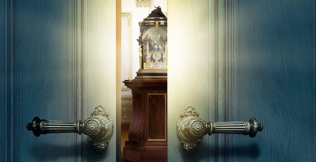 Stap binnen in de Koninklijke Kamer van Museum Speelklok en betreed een majestueuze wereld vol glitter en glamour. Foto: Museum Speelklok