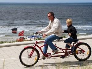 Of liever een tandem? Foto: Behind The Beach.