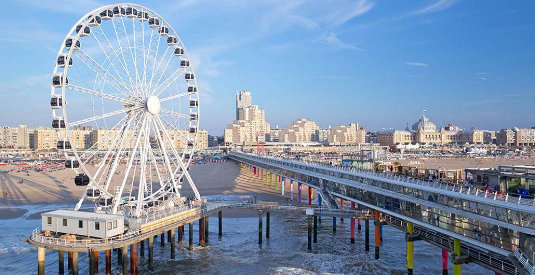 Het reuzenrad op De Pier is een feit. Fotograaf: Maurice Haak, Den Haag Marketing.