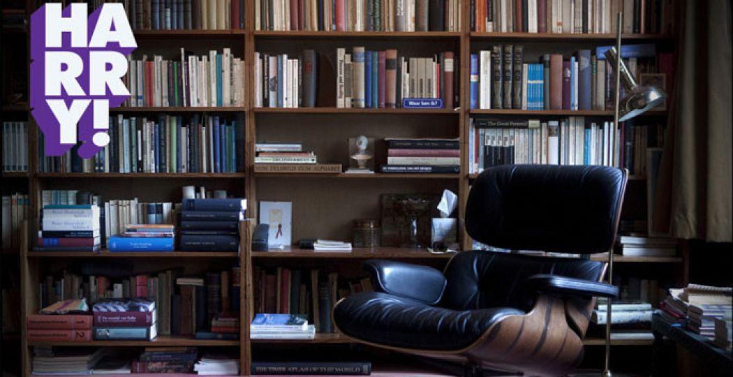 Stoel in werkkamer Harry Mulisch. Foto: Keke Keukelaar