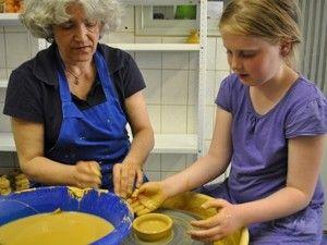 Creatief feestje in Pottenbakkerij De Mussepot