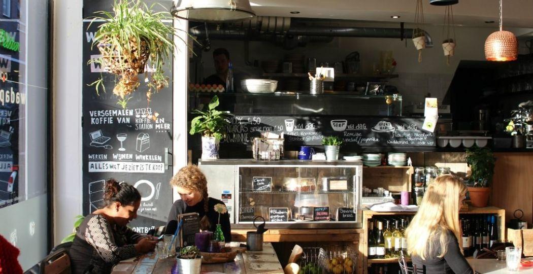 Wadapartja is een lunchcafé en conceptstore tegelijk. Foto: DagjeWeg.NL
